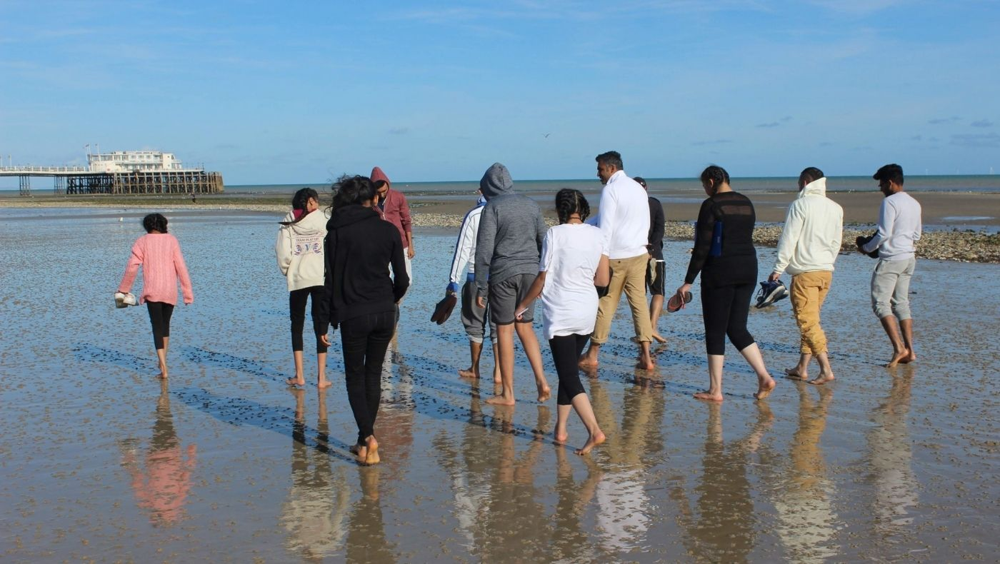 Youth retreat at Lighthouse Retreat Centre, Worthing